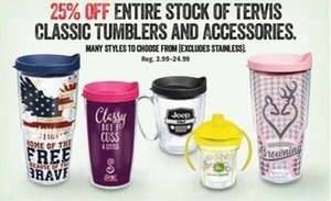 Tervis Classic Tumblers & Accesories