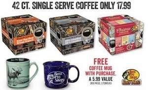42 Ct. Single Serve Coffee + Free Coffee Mug