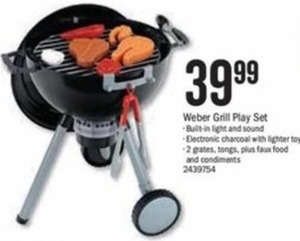 Weber Grill Play Set