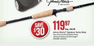 Johnny Morris Signature Series Rods