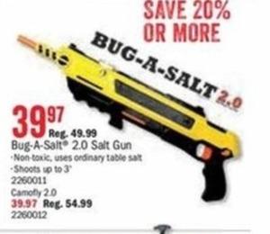 Bug-A-Salt 2.0 Salt Gun