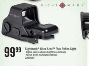 Sight mark Ultra Shot Plus Reflex Sight