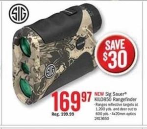 Sig Sauer KIL0850 Rangefinder