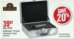 RedHead 2-Pistol Case