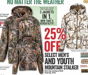 Select Men's and Youth Mountain Stalker