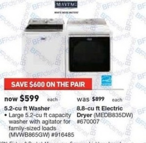 Maytag 8.8 cu. ft. Electric Dryer