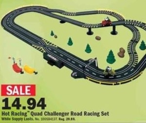 Hot Racing Quad Challenger Road Racing Set