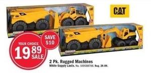 2 Pk. Rugged Machines