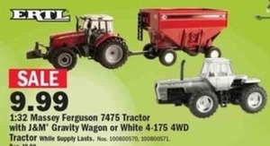 White 4-175 4WD Tractor