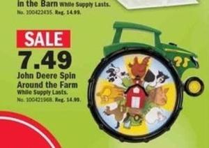 John Deer Spin Around the Farm