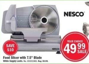 """Food Slicer w/ 7.5"""" Blade"""