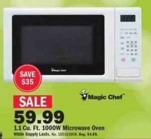 Magic Chef 1.1 cu. ft. Microwave Oven