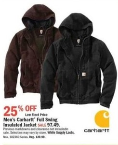 Carhartt Men's Full Swing Insulated Jacket