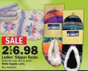 Ladies' Slipper Socks