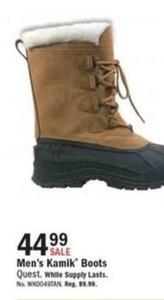 Men's Kamik Boots