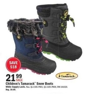 Children's Tamarack Snow Boots
