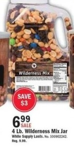 4 lb. Wilderness Mix Jar