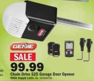 Chain Drive 525 Garage Door Opener