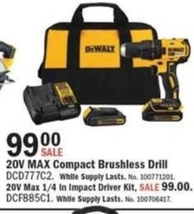 DeWalt Compact Brushless Drill