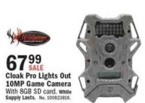 Cloak Pro Lights Out 10MP Game Camera