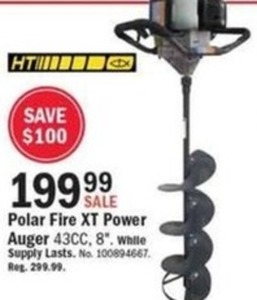Polar Fire XT Power Auger