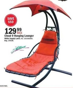 Cloud 9 Hanging Lounger