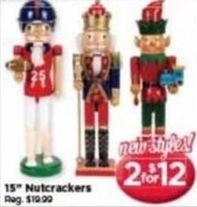 """15"""" Nutcrackers"""