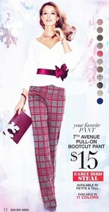 7th Avenue Pull-On Bootcut Pant