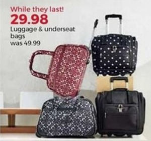 Luggage & Underseat Bags