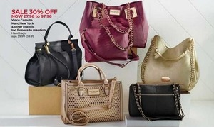 Handbags - Vince Camuto, Marc New York, and Other Brands