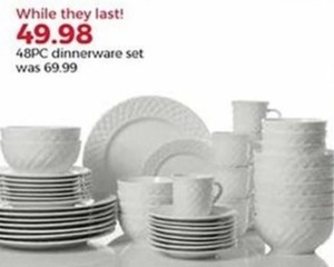 48-Pc. Dinnerware Set