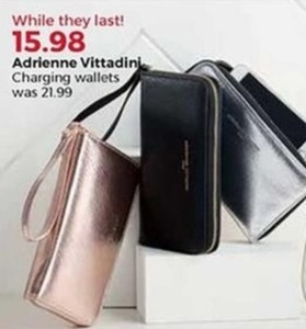 Adrienne Vittadini Charging Wallets