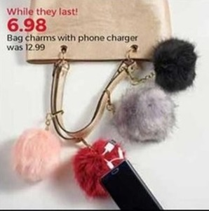 Bag Chars with Phone Charger