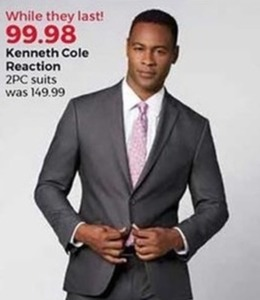 Kenneth Cole Reaction 2-Pc. Suits