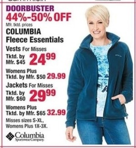 Columbia Fleece Essentials