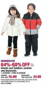 Infants & Toddlers Jackets and Snowsuits