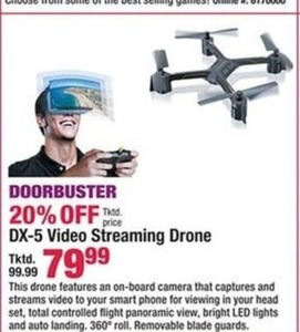DX-5 Video Streaming Drone