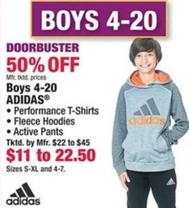 Adidas Boys' T-Shirts, Hoodies & Pants