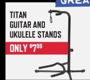Titan Guitar and Ukulele Stands