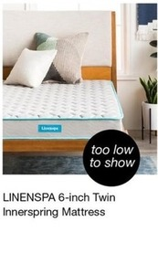 LinenSpa 6' Twin Innerspring Mattress