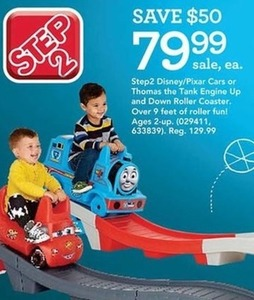 Thomas The Tank Engine Up And Down Roller Coaster