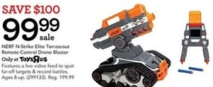Nerf N Strike Elite Terrascout Remote Control Drone Blaster