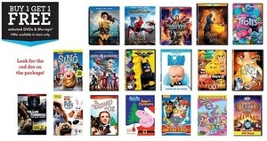 Select DVDs & Blu-rays