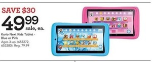 Kurio Next 7 inch 16GB The Safest Kids Android Tablet - Blue