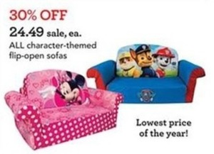 All Character Themed Flip-Open Sofas