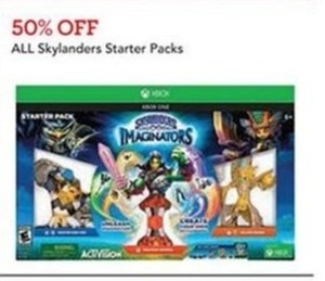 All Skylanders Starter Packs
