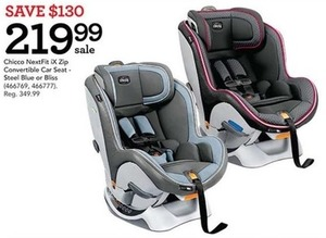 Chicoo Next Fix iX Zip Convertible Car Seat