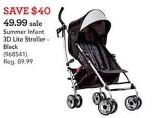 Summer Infant 3D Lite Stroller