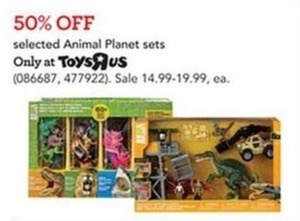 Animal Planet Toy Sets