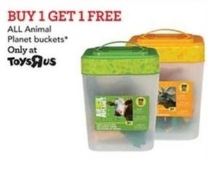Animal Planet Buckets